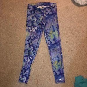 multi color leggings galaxy style